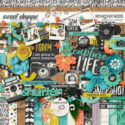 Snaparazzi {Kit} by Digilicious Design