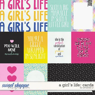 A Girl's Life: Cards by Amanda Yi