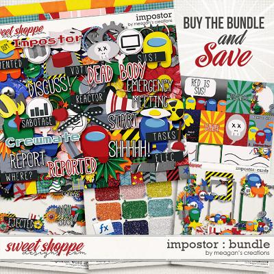 Impostor: Collection Bundle by Meagan's Creations