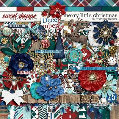 Merry Little Christmas by River Rose Designs