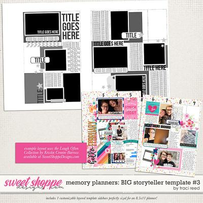 Memory Planners - Big - Storytellers #3 by Traci Reed