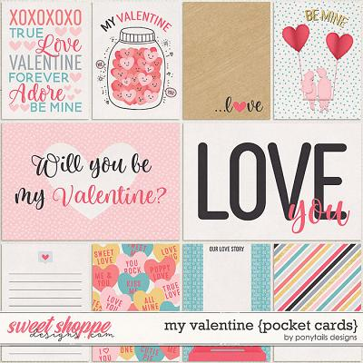 My Valentine Pocket Cards by Ponytails