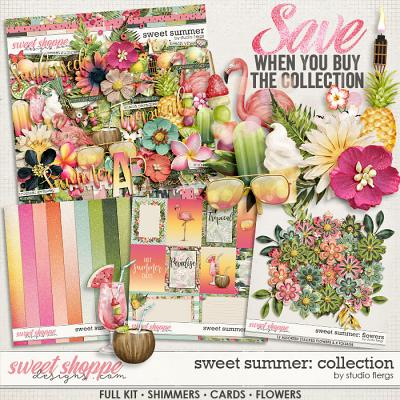 Sweet Summer: COLLECTION & *FWP* by Studio Flergs