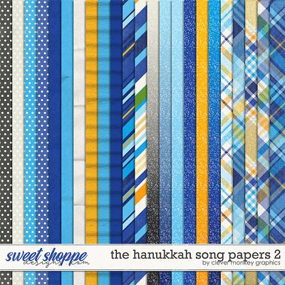 The Hanukkah Song Papers 2 by Clever Monkey Graphics