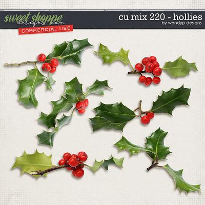 CU Mix 220 - Hollies by WendyP Designs