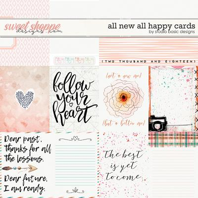 All New All Happy Cards by Studio Basic