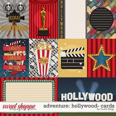 Adventure: Hollywood- CARDS by Studio Flergs