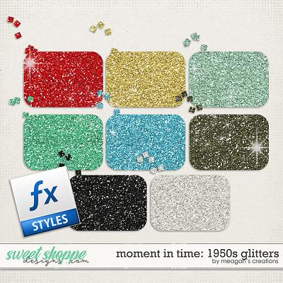 Moment in Time: 1950s Glitters by Meagan's Creations
