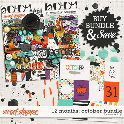 12 Months: October Bundle by Amanda Yi