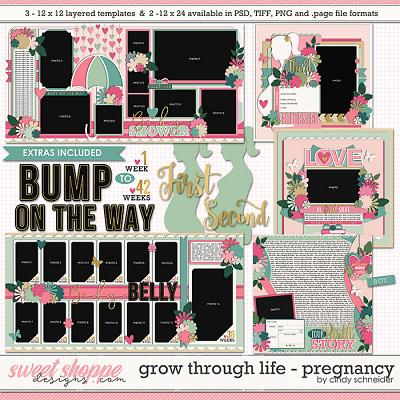 Cindy's Layered Templates - Grow Through Life: Pregnancy by Cindy Schneider