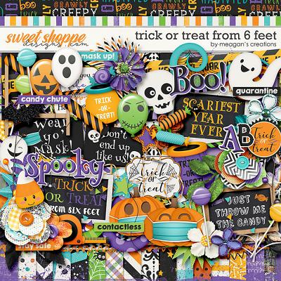 Trick or Treat From Six Feet by Meagan's Creations