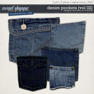 Denim Pockets {Vol 02} by Christine Mortimer