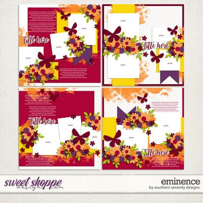 Eminence Layered Templates by Southern Serenity Designs