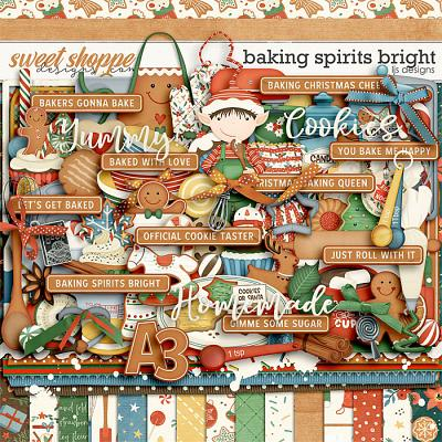 Baking Spirits Bright by LJS Designs