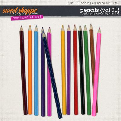 Pencils {Vol 01} by Christine Mortimer