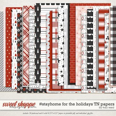#StayHome for the Holidays: TN Papers by Traci Reed