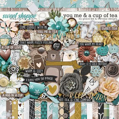 You Me And A Cup of Tea by Grace Lee and WendyP Designs