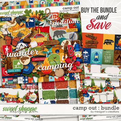 Camp Out Collection Bundle by Meagan's Creations