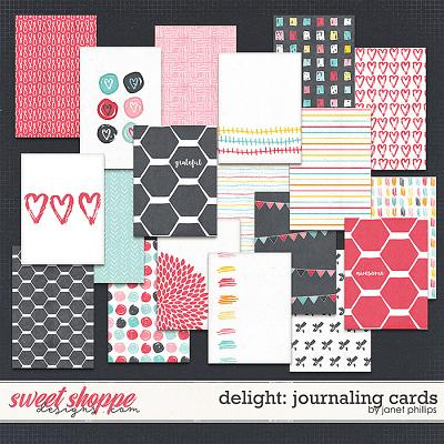 Delight: Journaling Cards by Janet Phillips