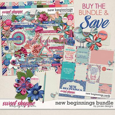 New Beginnings Bundle by JoCee Designs