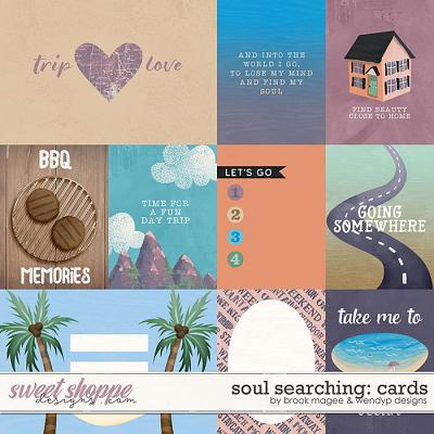 Soul Searching: cards by Brook Magee and WendyP Designs