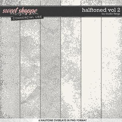 Halftoned VOL 2 by Studio Flergs