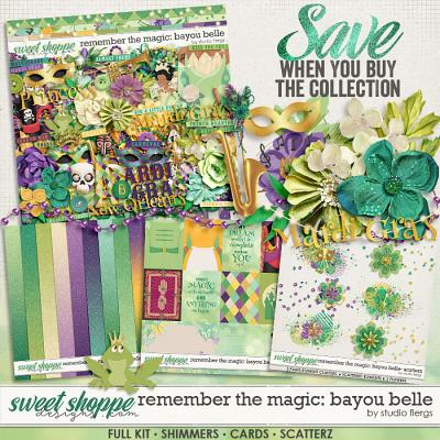Remember the Magic: BAYOU BELLE- COLLECTION & *FWP* by Studio Flergs
