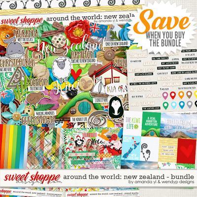 Around the world: New Zealand - Bundle by Amanda Yi & WendyP Designs