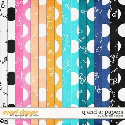 Q and A: Papers by River Rose Designs