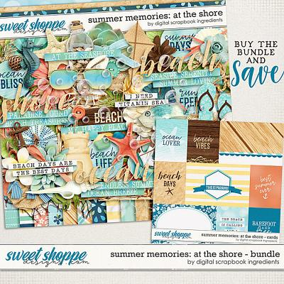 Summer Memories: At The Shore Bundle by Digital Scrapbook Ingredients