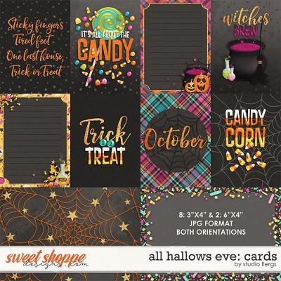 All Hallows Eve: POCKET CARDS by Studio Flergs
