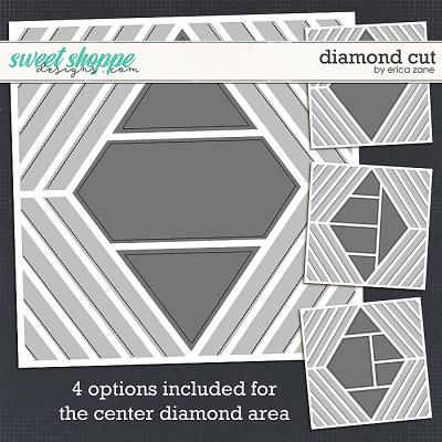 Diamond Cut Template by Erica Zane