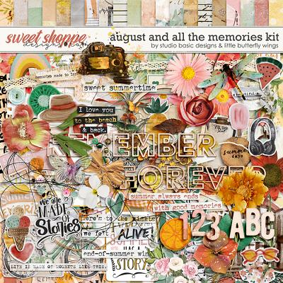 August And All The Memories... Kit by Studio Basic & Little Butterfly Wings