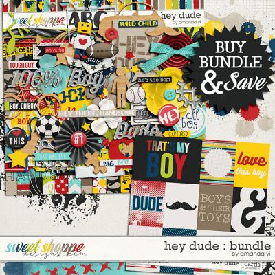 Hey Dude : Bundle by Amanda Yi