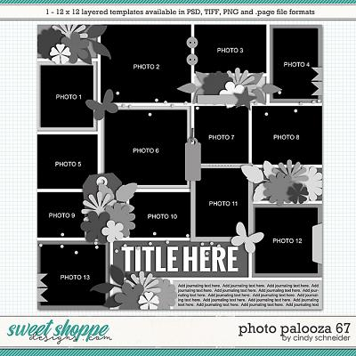 Cindy's Layered Templates - Photo Palooza 67 by Cindy Schneider