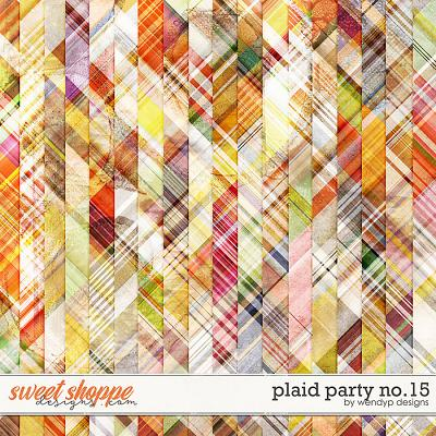 Plaid Party no.15 by WendyP Designs