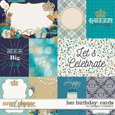 Her Birthday: Cards by Meagan's Creations
