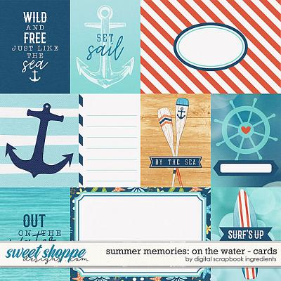 Summer Memories: On The Water | Cards by Digital Scrapbook Ingredients