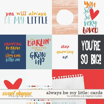 Always Be My Little-Project Cards by Amanda Yi Designs & Meghan Mullens