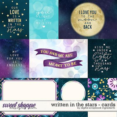 Written In The Stars | Cards by Digital Scrapbook Ingredients
