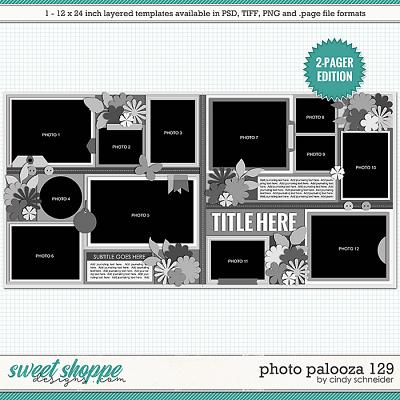 Cindy's Layered Templates - Photo Palooza 129 by Cindy Schneider