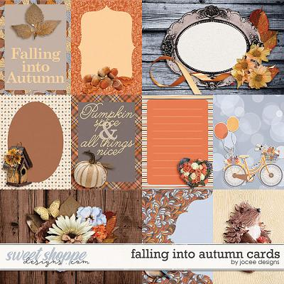 Falling into Autumn Cards by JoCee Designs