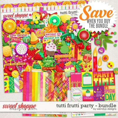 Tutti frutti party - bundle by WendyP Designs
