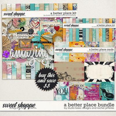 A Better Place Bundle by Studio Basic and Rachel Jefferies