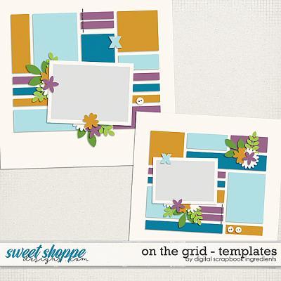 On The Grid Templates Vol.1 by Digital Scrapbook Ingredients