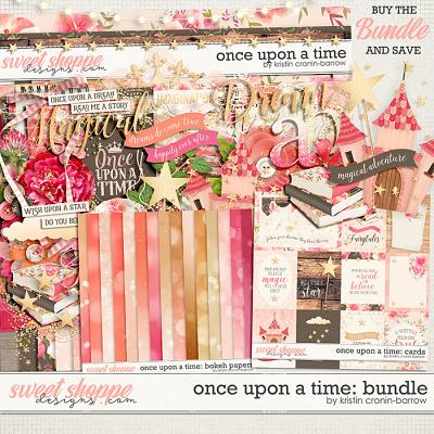 Once Upon a Time: Bundle by Kristin Cronin-Barrow
