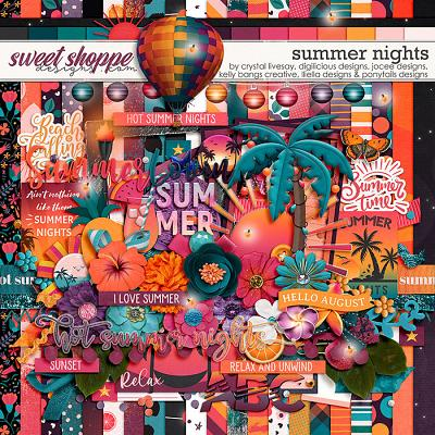 *FREE with your $15 Purchase* Sixlet #2 - Summer Nights by Allie, Christine, Crystal, Jo, Kelly & Nat