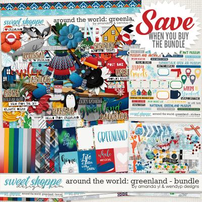 Around the world: Greenland - Bundle by Amanda Yi & WendyP Designs
