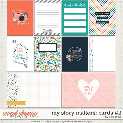 My Story Matters Cards #2 by Traci Reed