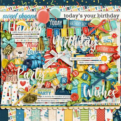Today's Your Birthday by LJS Designs